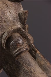 Masque africainMasque-heaume Kponiugo Senoufo