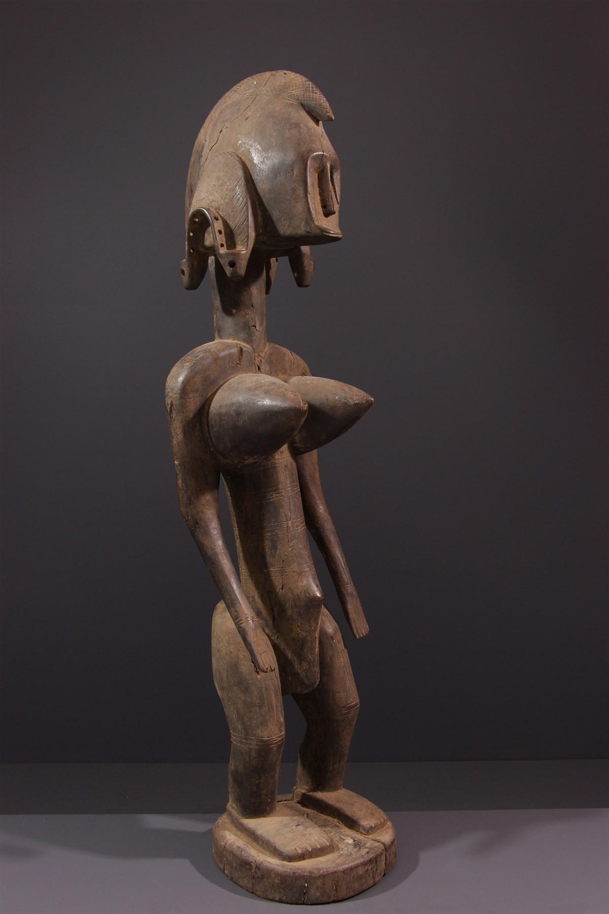 Statue Bambara féminine Dyonyeni  - Art africain