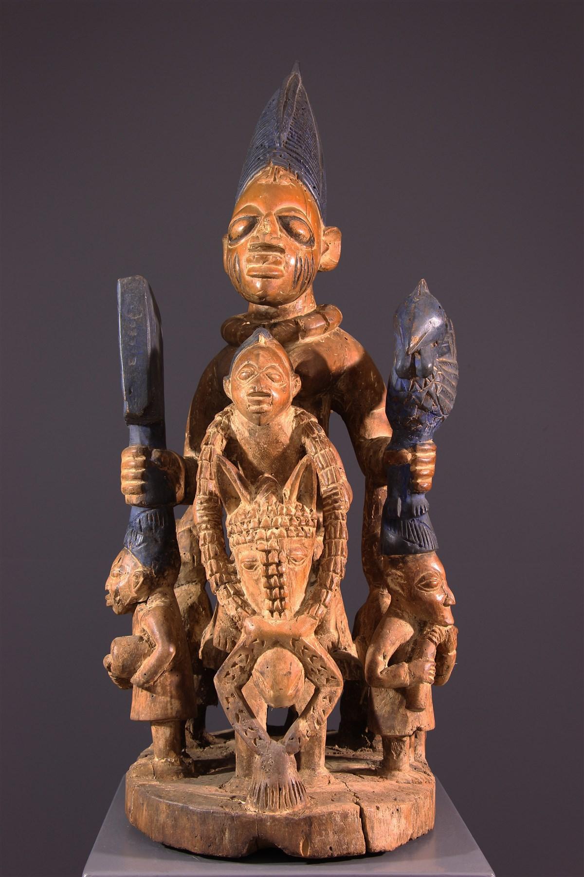 Autel Yoruba - Art africain