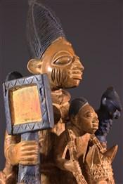 Statues africainesAutel Yoruba