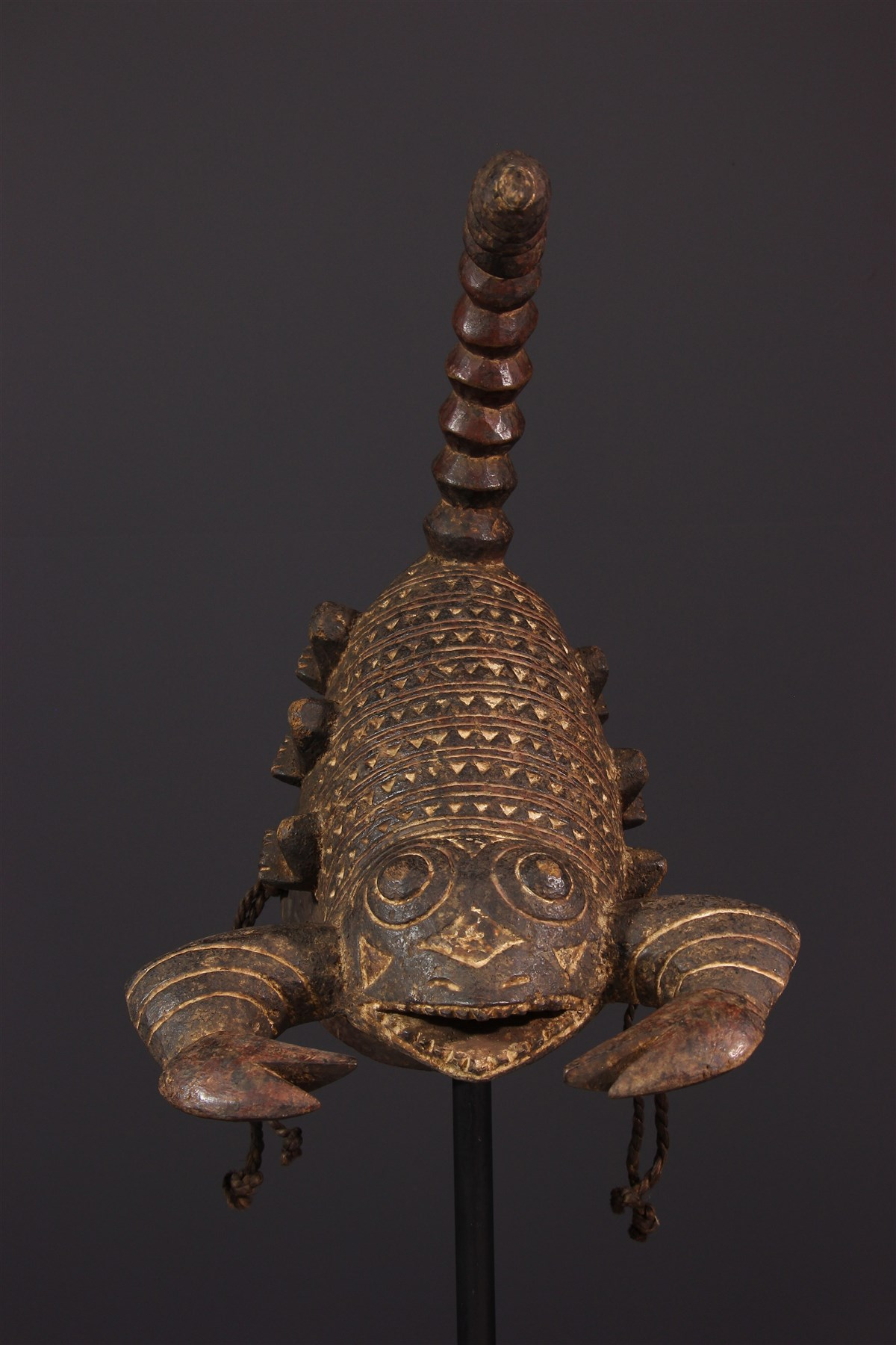 Masque Gurunsi  scorpion - Art africain