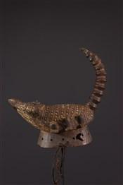 Masque africainMasque Gurunsi  scorpion