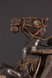 Statues africainesCavalier Bamoun