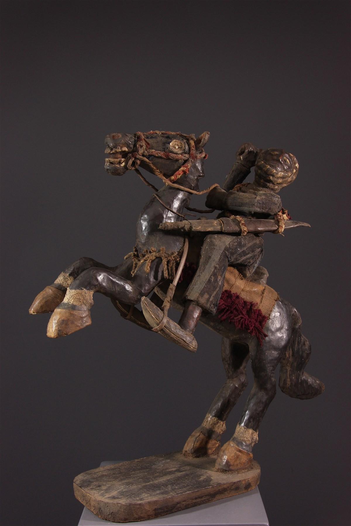 Cavalier Bamoun - Art africain