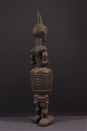 Statues africainesCoupe Lualua anthropomorphe