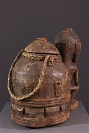 Objets usuelsBoîte à oracles à souris Gbékré sé Baoulé