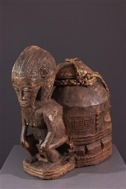 Boîte à oracles à souris Gbékré sé Baoulé