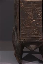 Statues africainesBoîte à pharmacopée Bwa