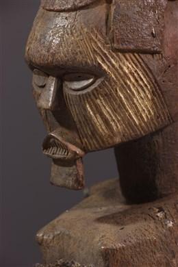 Statue d ancêtre Téké-Yansi Butti