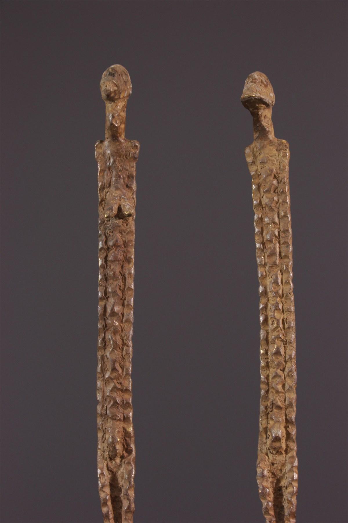 Couple primordial Dogon - art africain