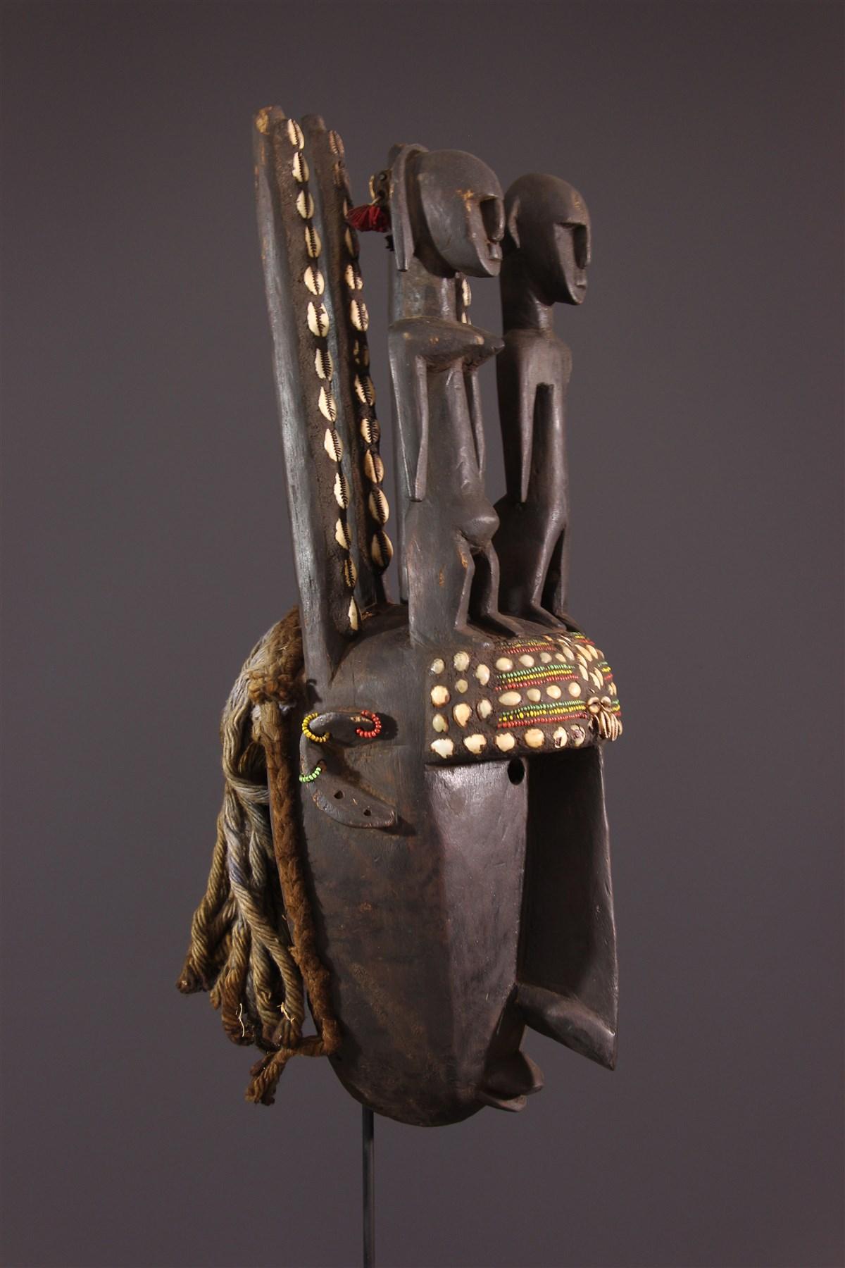 Masque Bambara du N'tomo - Art africain