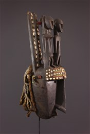Masque africainMasque Bambara du N tomo