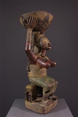 Coupe à offrandes Yoruba
