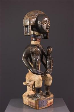 Statue Baoulé dancêtre
