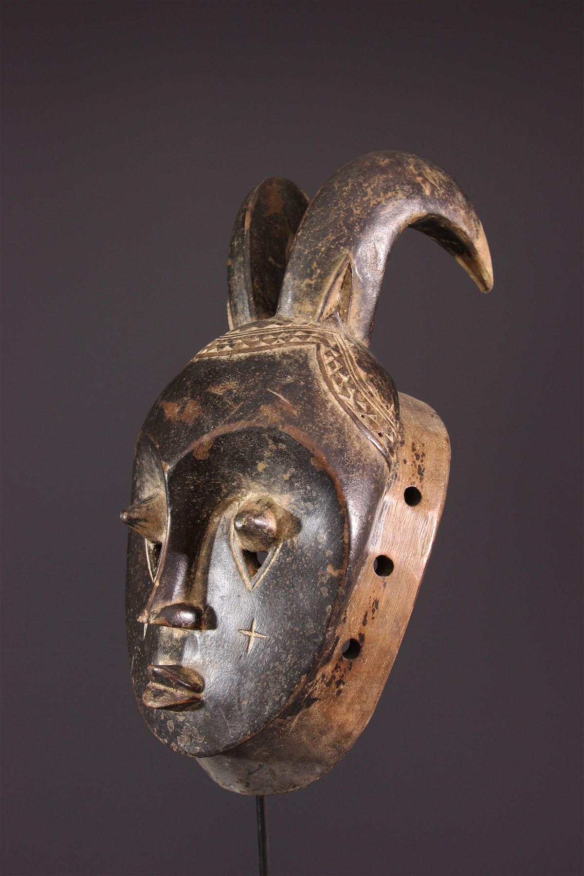 Masque Baoulé du Goli - art africain