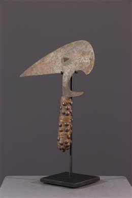 Couteau de jet / Monnaie Kota Osele