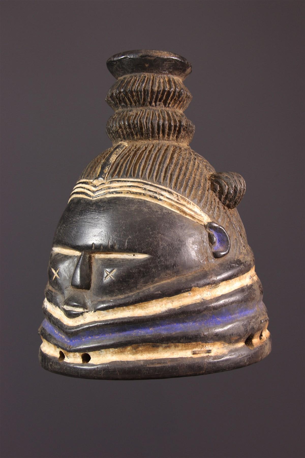 Masque Mendé Bundu - art africain