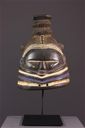Masque africainMasque Mendé Bundu