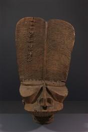 Masque africainMasque  Bamileke Tsemabu / Msop