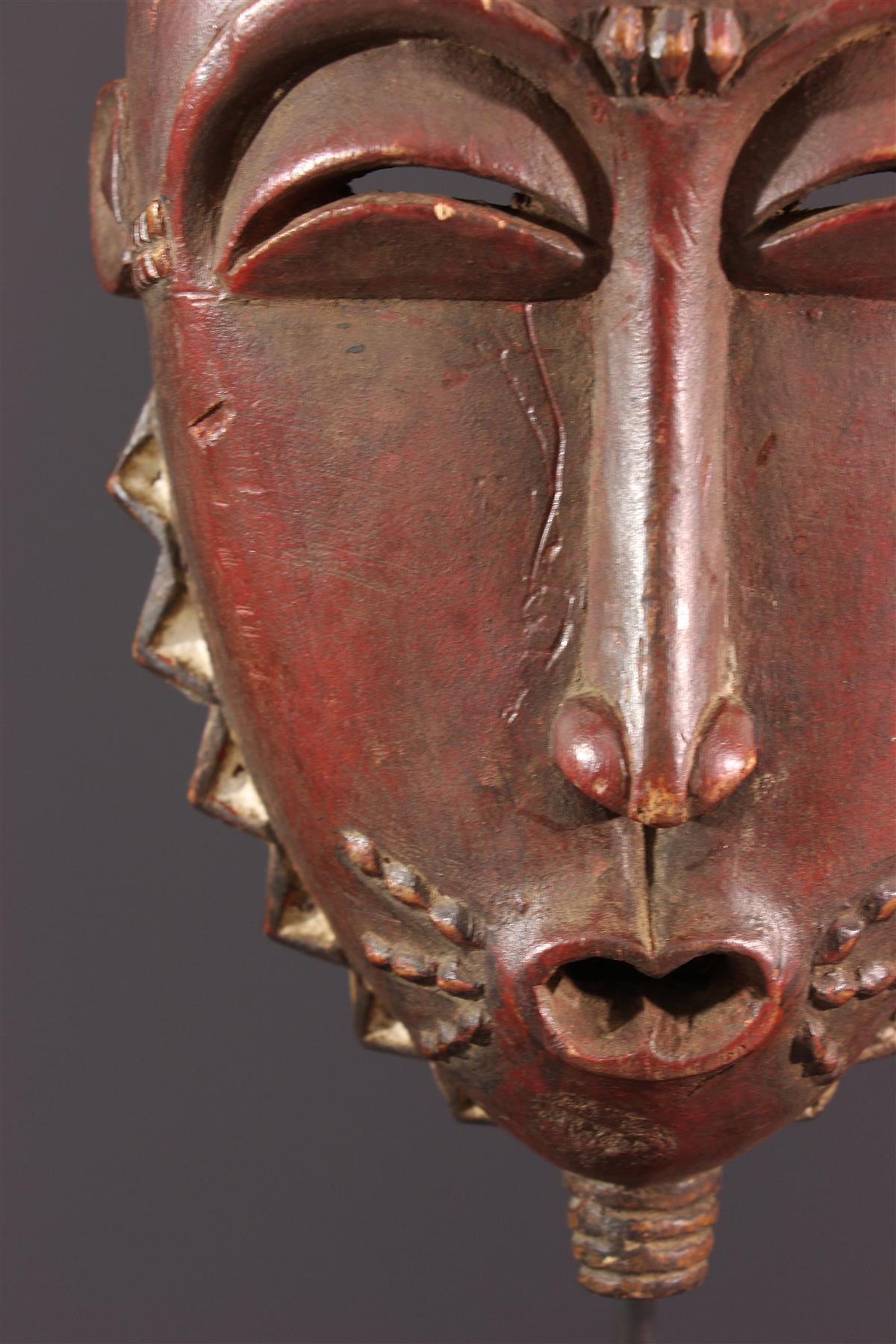 Grand masque Yaouré/Yohouré - Art africain