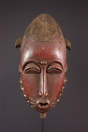Masque africainGrand masque Yaouré/Yohouré