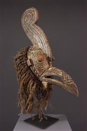 Masque africainMasque Gurunsi calao