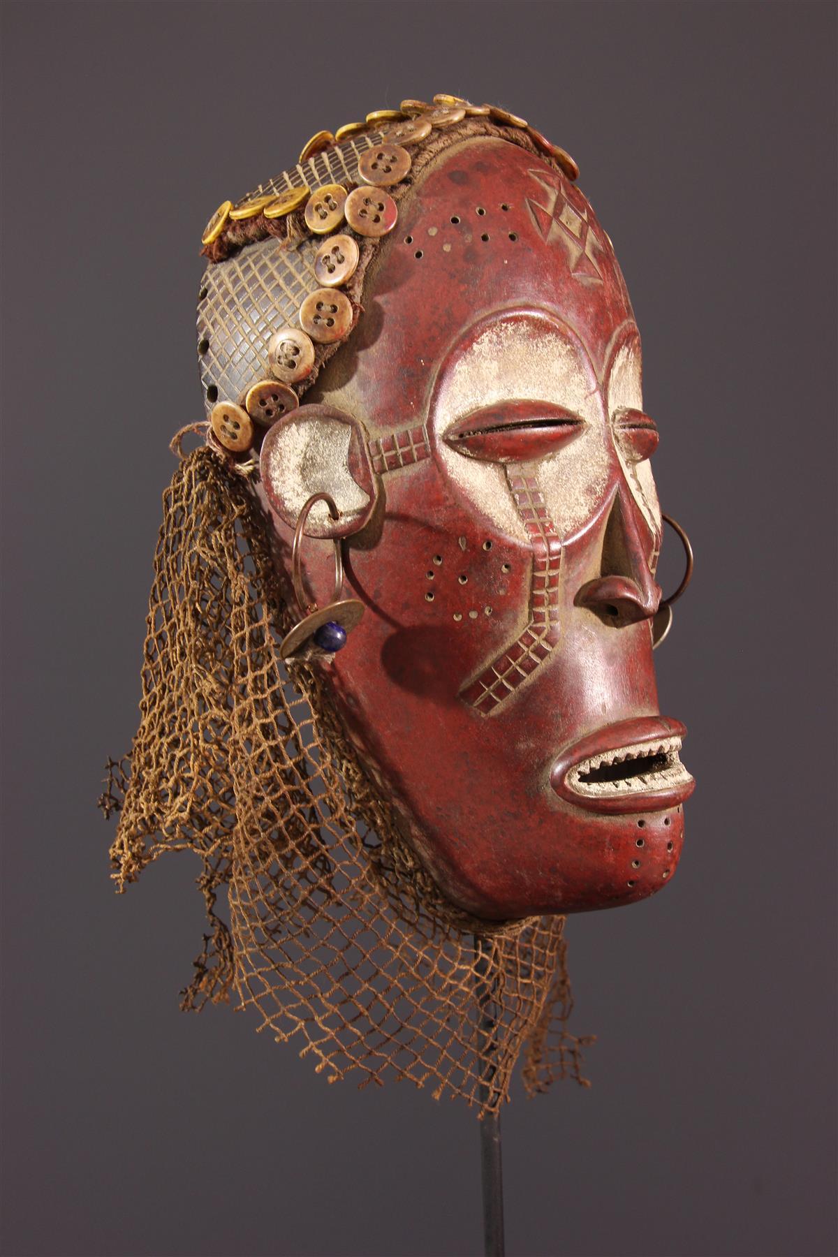 Masque Chokwe Pwo - Art africain