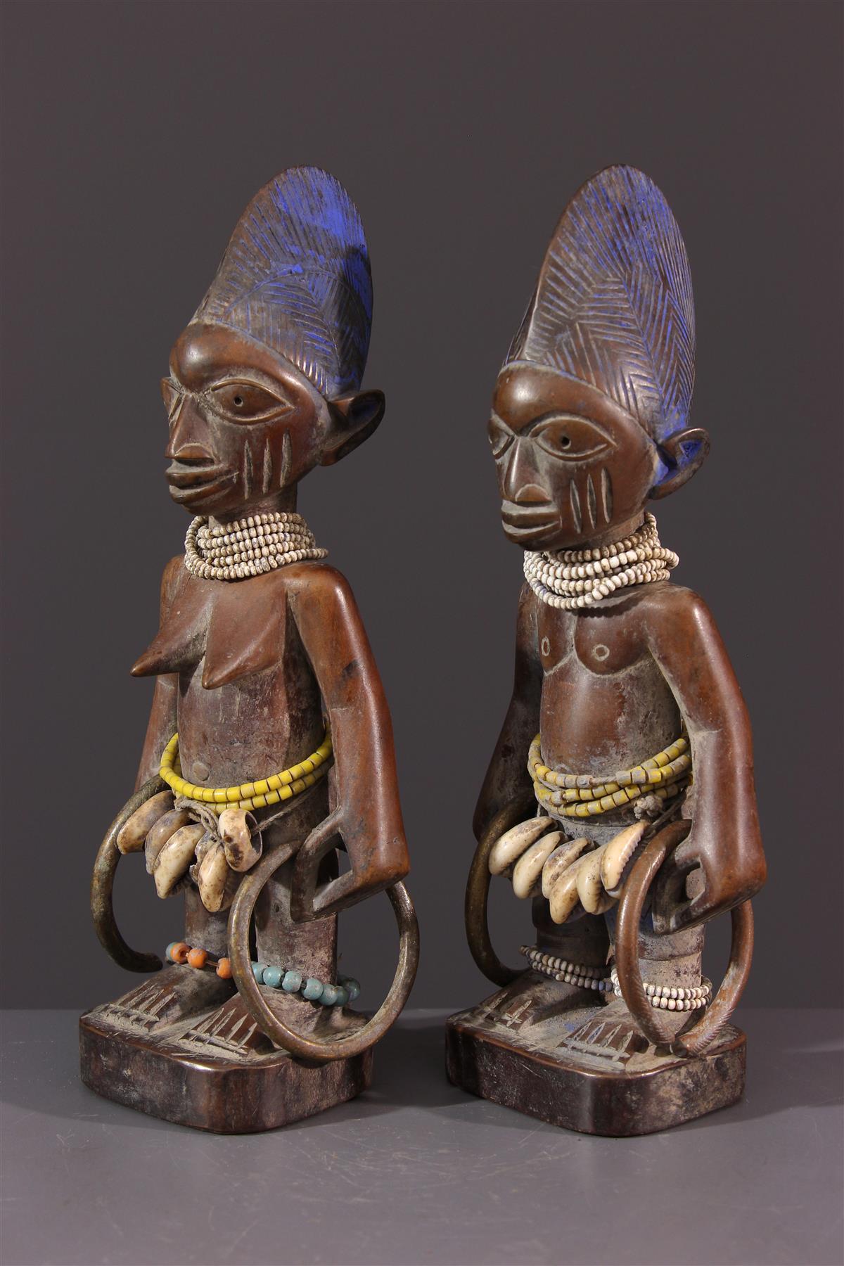 Statuettes Ibeji Ere - art africain