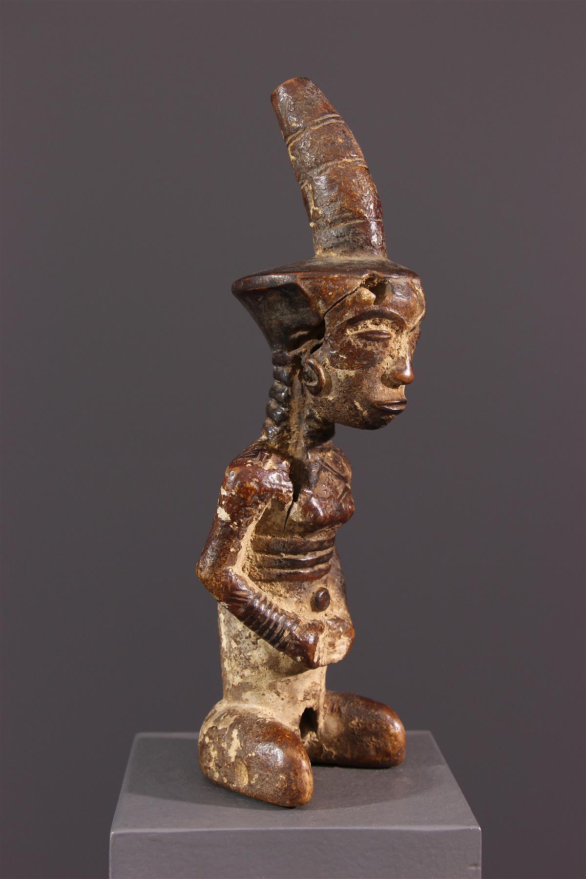 Statuette d'ancêtre Ndengese fétiche - Art africain