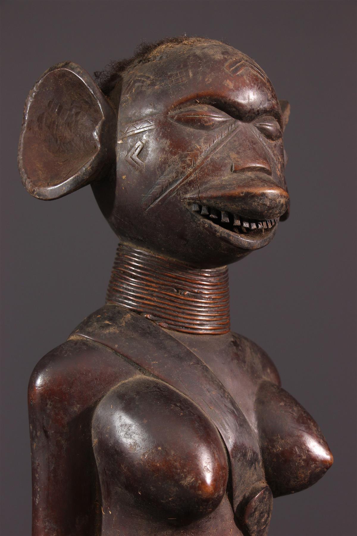 Statue Makonde - Art africain