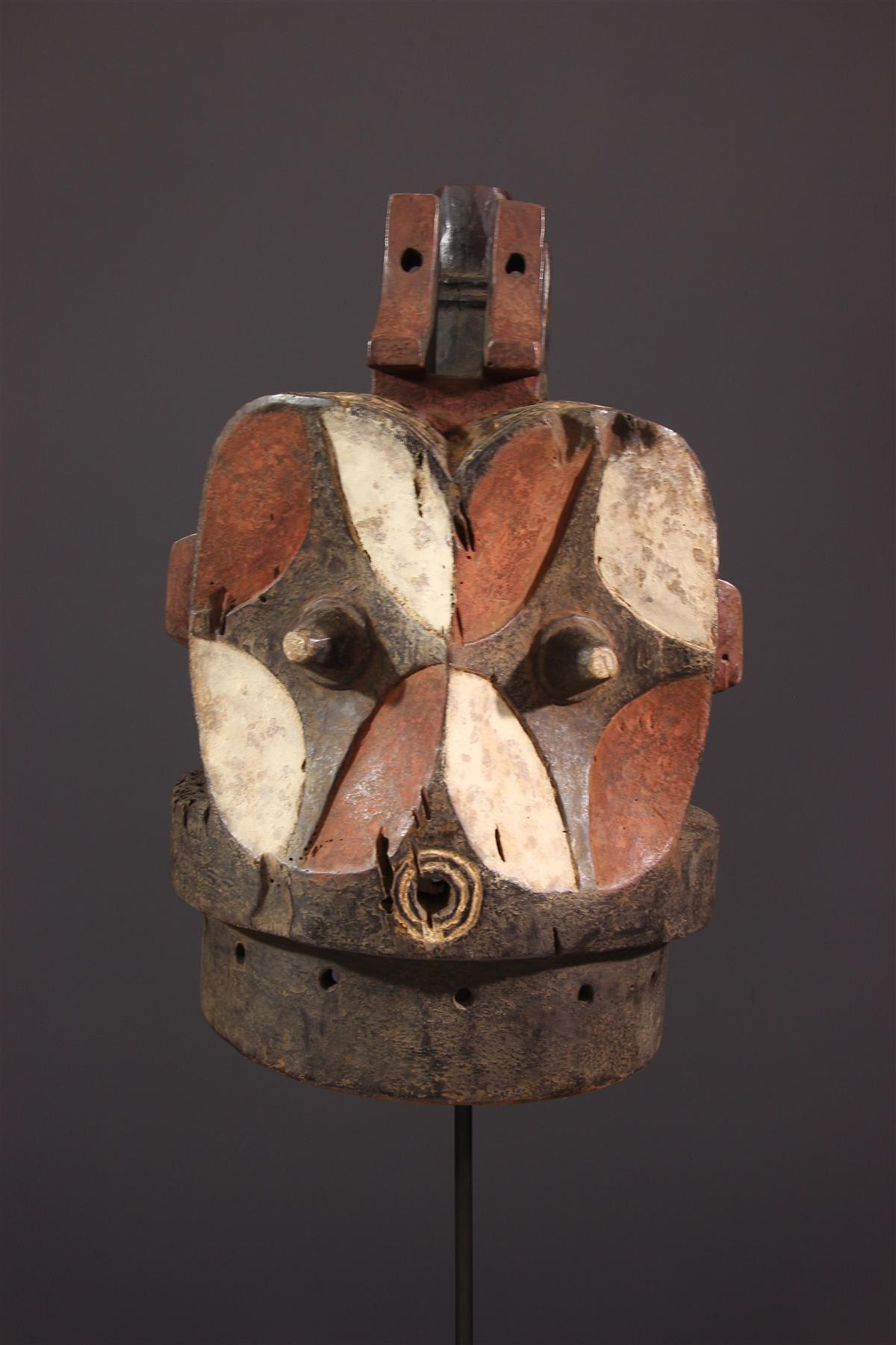 Masque janiforme Alunga Bembe - Art africain