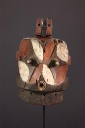 Masque africainMasque janiforme Alunga Bembe
