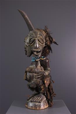 Statue Songye / Fétiche janiforme