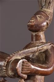 Statues africainesTrio de musiciens Mangbetu