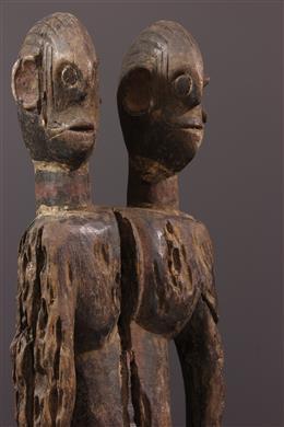 Statue janiforme Mumuye