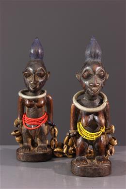 Statuettes Ibedji Yoruba