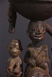 Pots, jarres, callebasses, urnesCoupe Yoruba