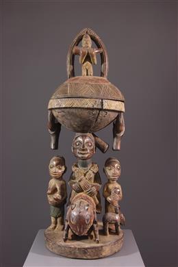 Coupe rituelle Yoruba