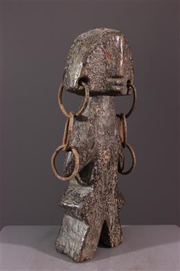 Statue Zande Azande janiforme Kudu