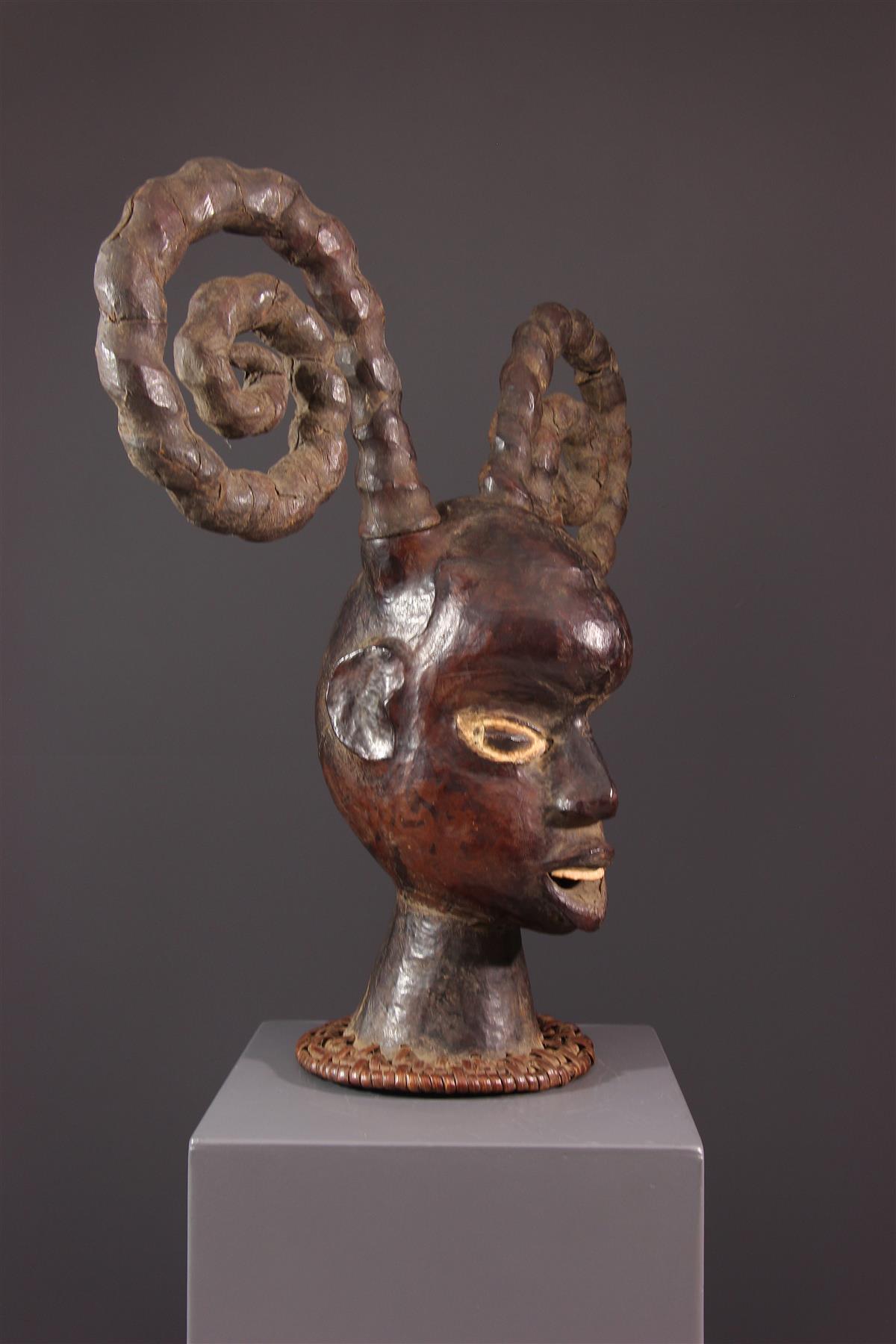 Cimier Ekoi - Art africain