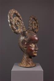 Masque africainCimier Ekoi