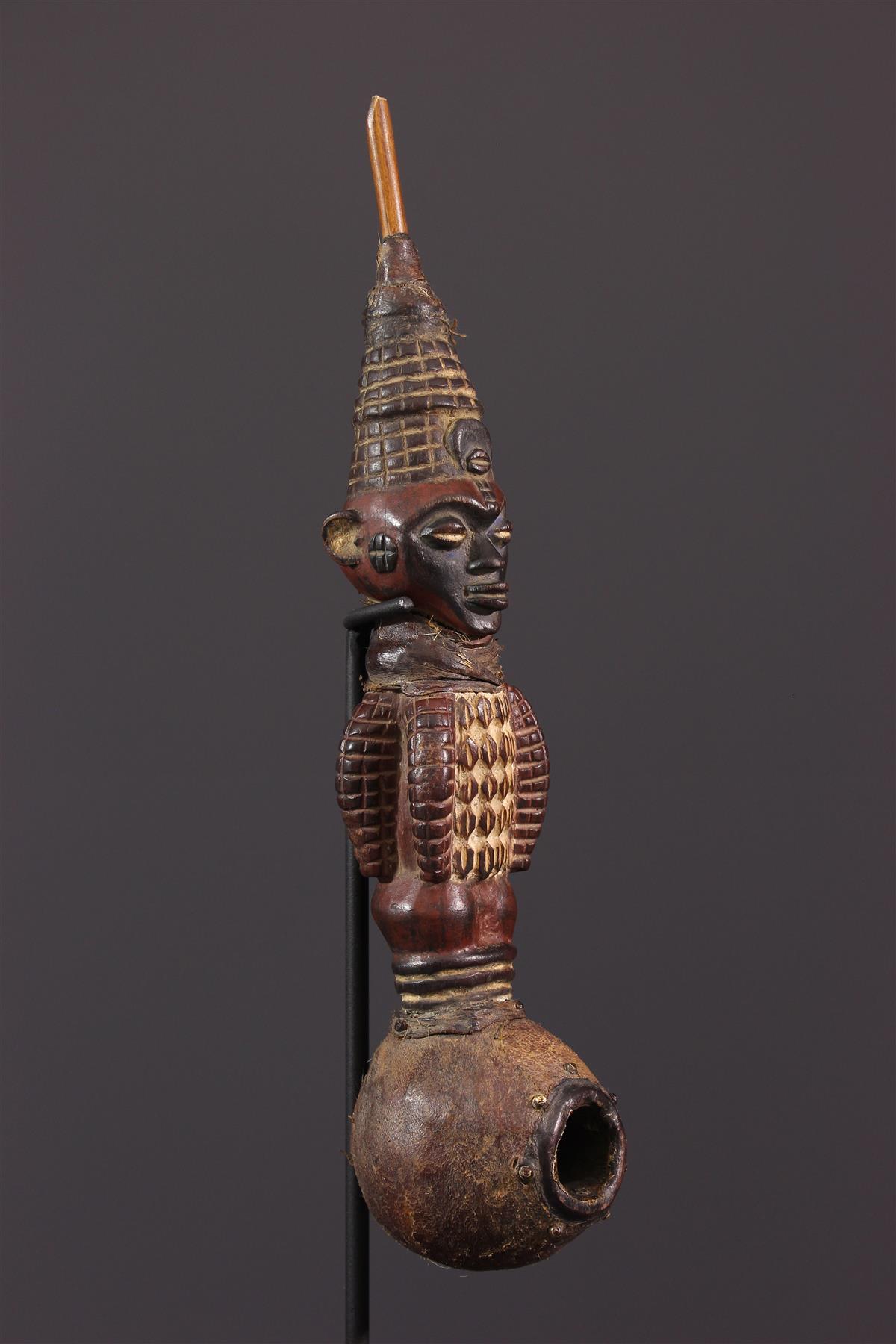 Pipe Kuyu - Art africain
