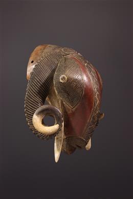 Masque zoomorphe Baoulé
