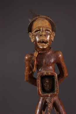 Statue Kongo Nkisi Nkondi