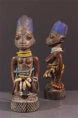Paire de jumeaux Yoruba Ibedji