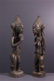 Statues africainesCouple Baoule