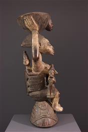 Statues africainesCoupe Yoruba