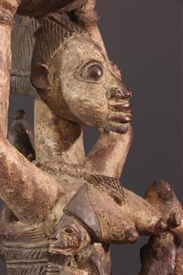 Coupe de divination Yoruba Agéré Ifà