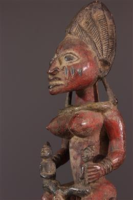 Masque - autel Yoruba Epa
