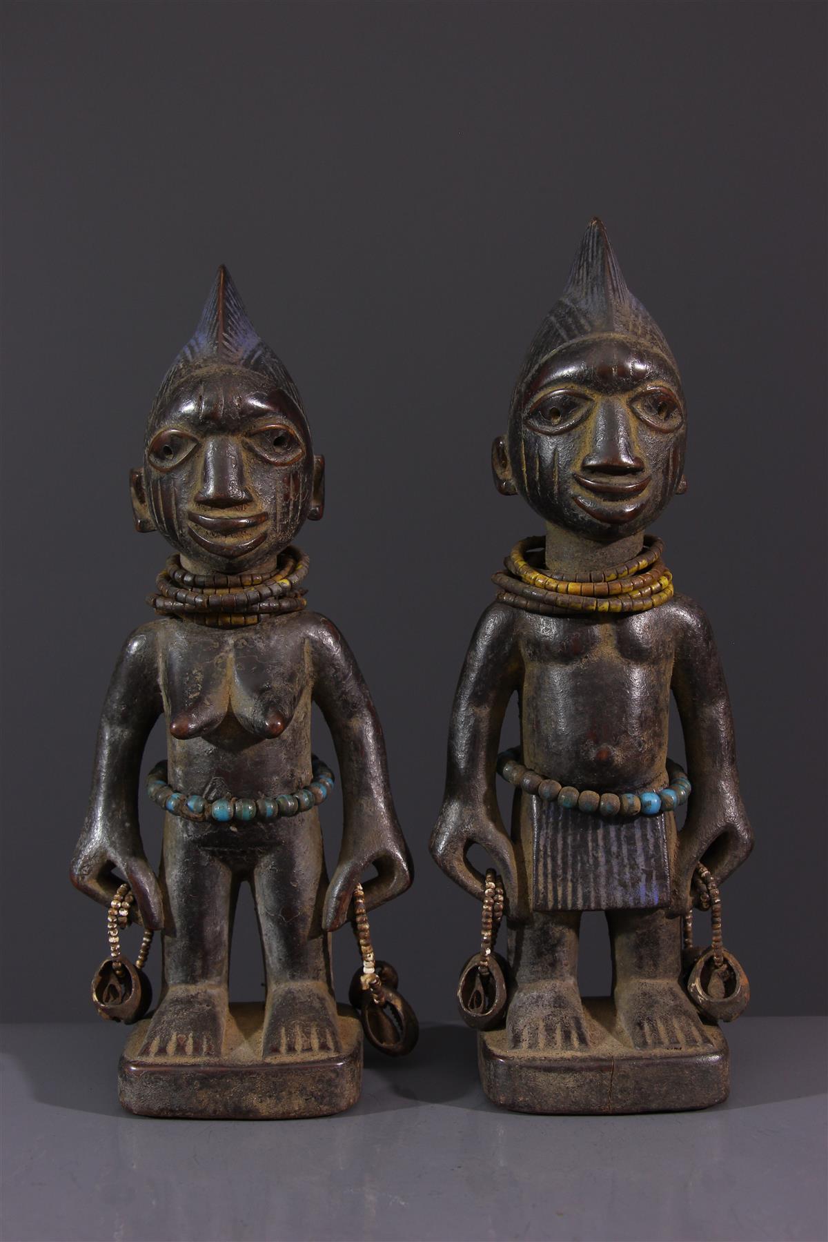 Statues Ibeji - Art africain